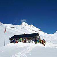 à ski à la cabane du bonheur